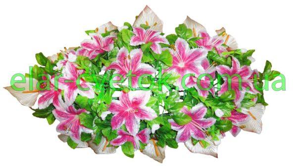 Венок с лилиями