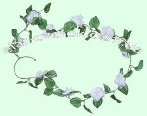 Лиана с цветком (10 головок)